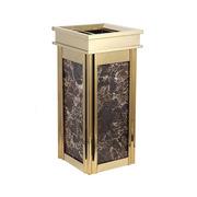 国产  立式垃圾桶 62cm*28cm*28cm   适用酒店、宾馆、旅馆、KTV等各类公共场所