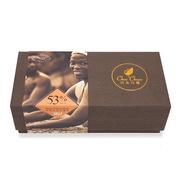 巧克巧蔻 share me24片53% 纯黑巧克力薄片 130g