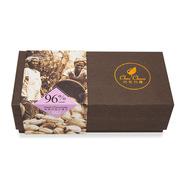 巧克巧蔻 share me24片96% 纯黑巧克力薄片 120g