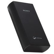 索尼 CP-V20 锂聚合物移动电源手机充电宝 20000豪安 黑色