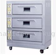 佳斯特 50C 三层电烤箱 1200*1200*180 不锈钢色