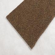 愛柯部落  歐特超厚除塵刮沙地毯墊-棕色 1*2m 磚紅色