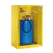 眾御 ZYC0060D 油桶柜單桶 1650*860*860mm 黃色