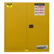 眾御 ZYC0110D-1 油桶柜雙桶 1650*1500*860mm 黃色