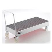 众御 201167 移动式贮存盘   200升桶垂直 1200*800*510mm 银色
