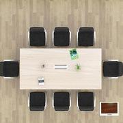国产  会议桌 3*1.2*0.76m