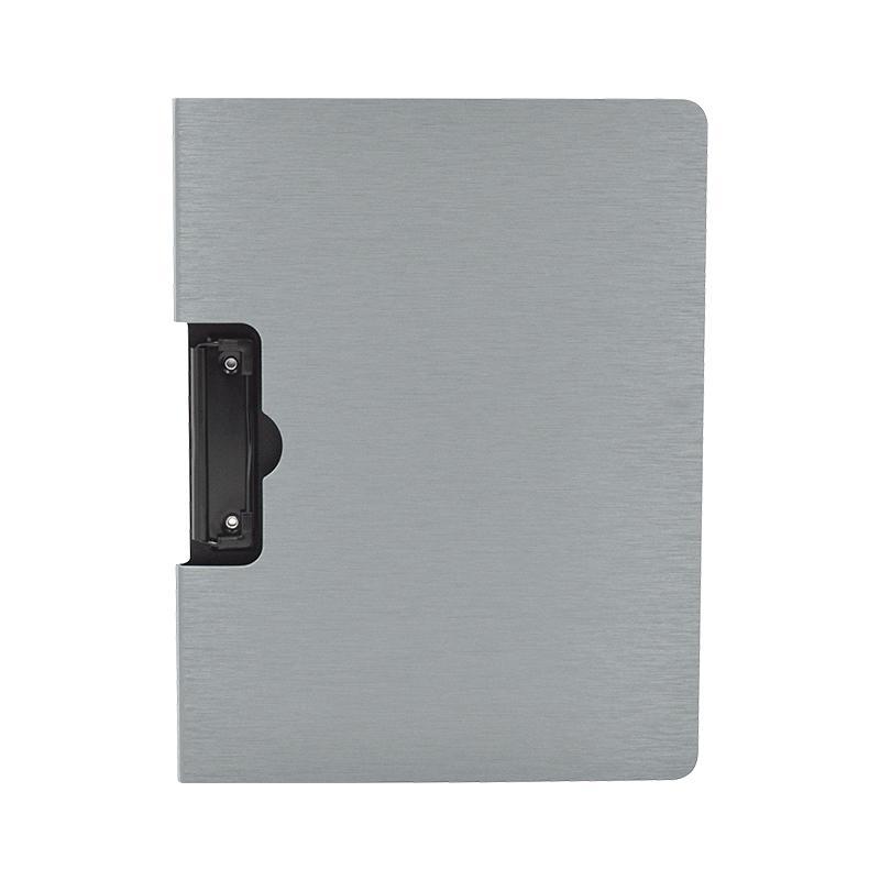 史泰博 CY8361 拉丝发泡文件夹(横式) 31*23.5cm 银色 12个/包,120个/箱
