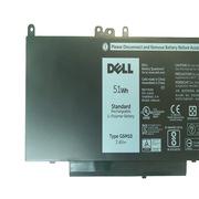 戴尔 E5450 4芯电池  黑色