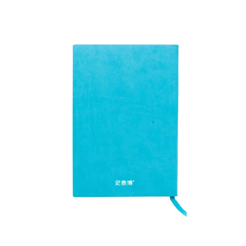 史泰博 PUNB001-1 软皮面记事本 A5 蓝色 50本/箱