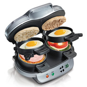 汉美驰 25490-CN 双盘早餐机 烤盘直径:25(含)cm以下