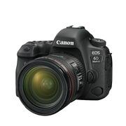 佳能 6D Mark II(24-70 f/4L) 单反相机 64G内存卡/FBMRC滤镜/MTT701三脚架/包
