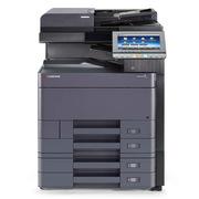京瓷 TASKalfa4002i 黑白多功能数码复合机 A3   双面复印、网络打印、双面彩色扫描、双纸盒、DP7110的输稿器、原装铁皮工作台