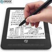 国文 OBOOK86H 教育E本通电纸书电子书阅读器墨水屏手写前光双触控阅读器 6.8英寸 黑色