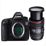 佳能 EOS 5DSR 单反相机 含24-70f4+包+卡色UV+原装电池