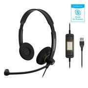 森海塞尔 SC60 USB ML 电脑耳机 (双耳)
