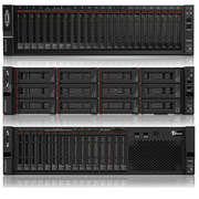 联想 Thinksystem SR650 服务器 两颗 ITENL Gold 5120 14C 2.2GHz处理器  一台 256G(8x32GB)内存,2个480GB 2.5寸 6GB固态硬盘  3*900G 2.5寸10K SAS 12GB硬盘