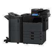东芝 5508A A3黑白复合机    (主机+双面器+双面同步扫描输稿器+双纸盒+供纸器+装订整理器)