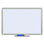 史泰博 CB0609-1 单面白板带笔槽套装(白板+2支白板笔+1白板擦) 60*90 白色 1套/箱