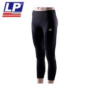 LP 280Z_XL 激能壓縮 ACE 系列女子七分褲  黑色