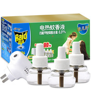 雷達  佳兒護電熱蚊香液無線器(1器)+30晚清香 34ml*3/瓶