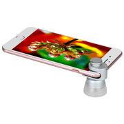 摩米士 CAM7S 4合1卓越手机镜头套装 2.0X,20X,180X,120X 银白色  长焦,广角,微距,鱼眼