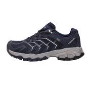探路者 KFAG81023-C03G 男式TIEF防水徒步鞋 40 藏藍色