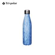 三极 TP3607 时尚户外运动水杯 7*27cm 湖水蓝