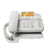 集怡嘉 DA760A 錄音電話機  珍珠白色