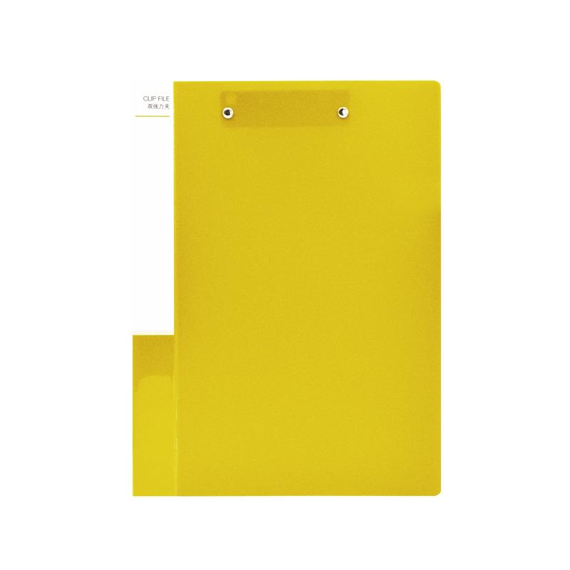 ope电竞娱乐 NP1036 双强力夹 A4 黄色 24个/中箱,96个/外箱