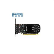 丽台 QUADRO P600 绘图专业显卡 P11KK10:N11   2GB GDDR5/128bit/64GBps/CUDA核心384 Pascal GPU架构/支持5K