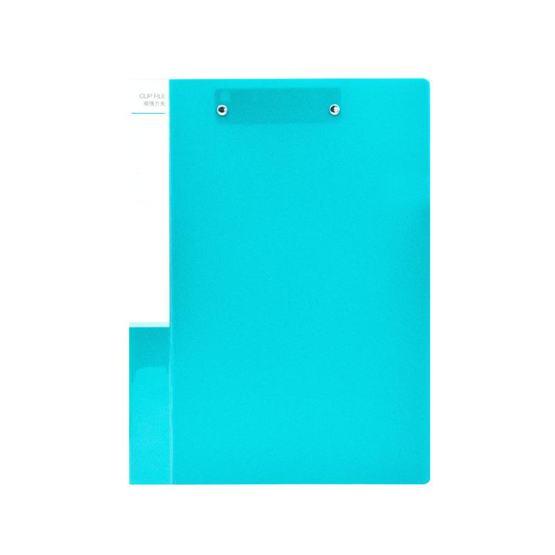 竞博app下载 NP1036 双强力夹 A4 淡蓝色 24个/中箱,96个/外箱