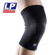 LP 647KM_S 四面彈硅膠波紋運動用護膝 黑色
