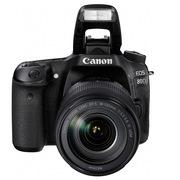 佳能 80D 单反相机 (EF-S 18-135MM )+闪迪64G高速内存卡   天利高清滤光镜67mm+相机包+清洁套装