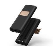 爱沃可 SBS200 秘书长移动电源 20000毫安 黑色  自带支架USB快充接口