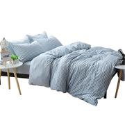 芳恩 FN-Z565 色織水洗棉四件套 床單245x250cm被套200x230cm枕套48x74c  套