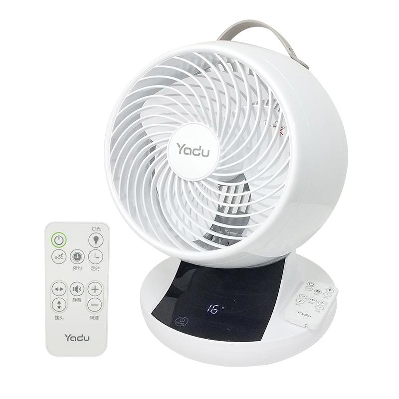 亚都 FX8203D 智能空气循环扇直流变频涡轮静音风扇 7.2英寸(182MM) 白色