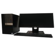 """戴爾 OptiPlex 5050MT 商用臺式電腦套機 21.5""""/i5-7500/4G DDR4/1T SAT 黑色  E2216H/R5-430 2G/DVDRW/帶PCI/串口/并口/三年"""