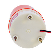 國產  led 旋轉指示燈信號燈(無聲 螺栓底座) 5W 大紅色