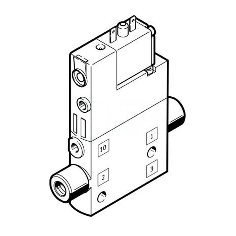 費斯托 196854 兩位三通單電控電磁閥 CPE10-M1BH-3OLS-M5