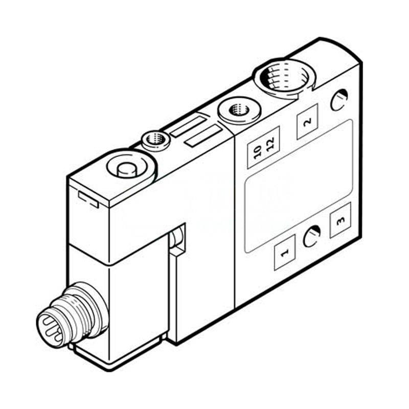 費斯托 550236 兩位三通單電控電磁閥 CPE10-M1CH-3OLS-M7