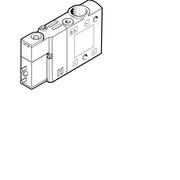 費斯托 196929 兩位三通單電控電磁閥 CPE14-M1BH-3GL-1/8