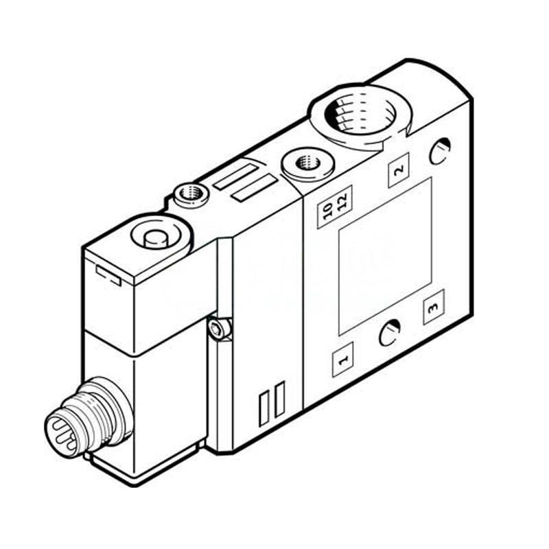 費斯托 550247 兩位三通單電控電磁閥 CPE14-M1CH-3GL-1/8