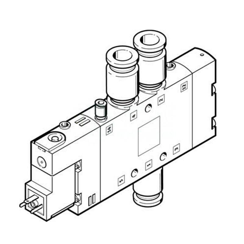 費斯托 170334 電磁閥 CPE18-M3H-5/3ES-QS10