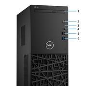 戴尔 成铭3980 电脑主机 i3-8100/4GB/1TB/Win10H3Y 黑色