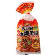 酷玛熊  五木3人份日式炒面(带调料包) 1包