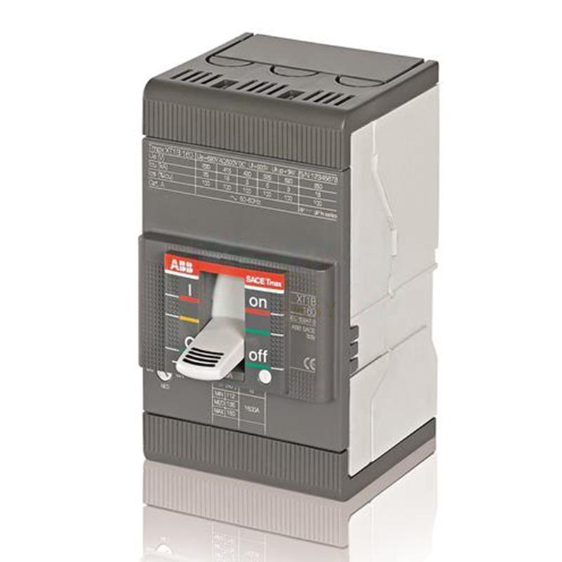 ABB 10158596 Tmax XT系列固定式熱磁塑殼斷路器 XT1H160 TMD125-1250 FFC 3P