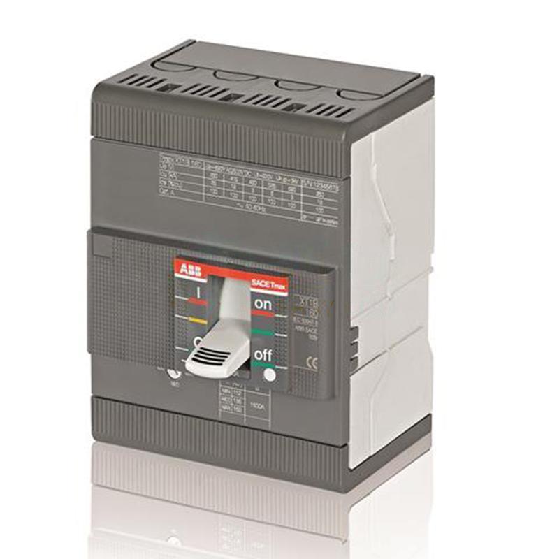 ABB 10158611 Tmax XT系列固定式熱磁塑殼斷路器 XT1C160 TMD25-450 FFC 4P