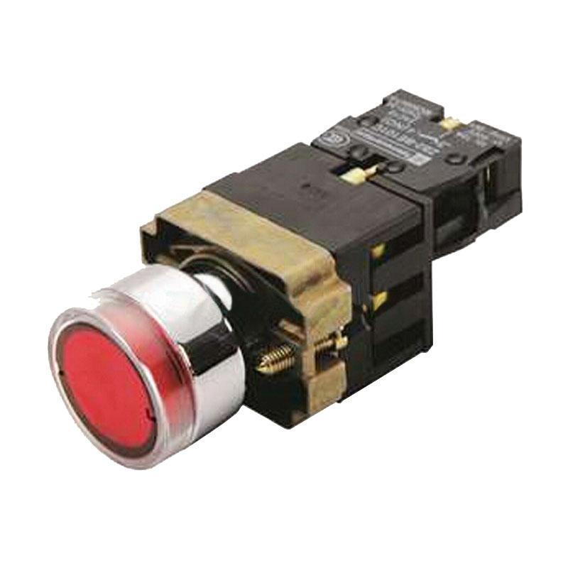 施耐德电气 XB2BW34B1C XB2 带灯按钮 (24VDC)(ZB2BWB41C+ZB2BW34C)