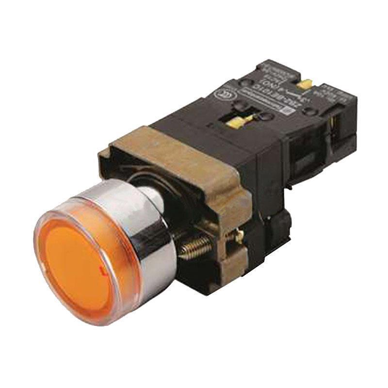 施耐德电气 XB2BW35M1C XB2 带灯按钮 (220VAC)(ZB2BWM51C+ZB2BW35C)