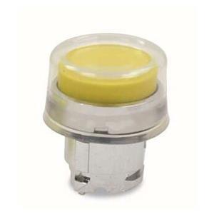 施耐德电气 ZB4BP5 金属按钮头 黄色 带罩